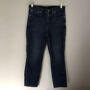 J crew high rise vintage straight jeans size 28
